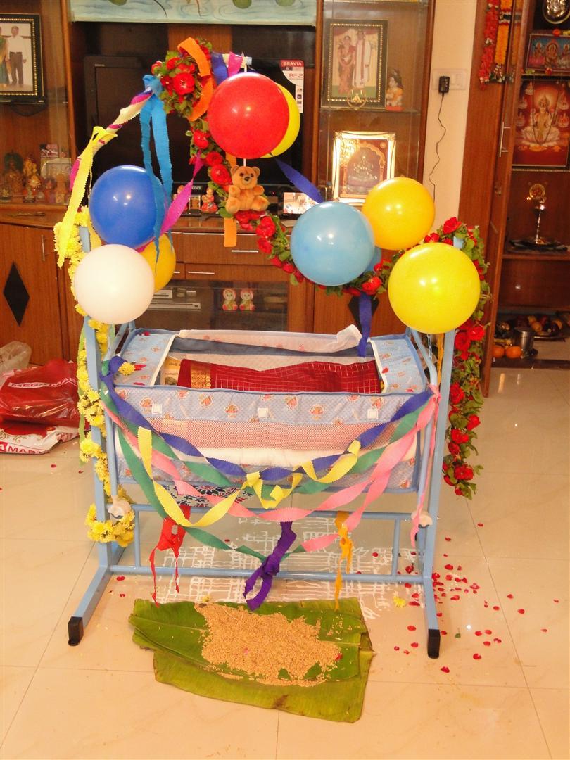 Adhruth S Naming Cerermony Thottil Cradle Adhruth Yagyaraman