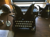 Typewriter model still maintained